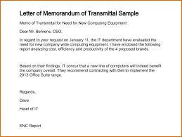 Transmittal Letter Sample Letter Transmittal Example Template