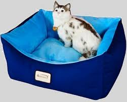 Armarkat Cat Bed by Armarkat C09hsl Tl 18 Inch Square Canvas Cat Bed