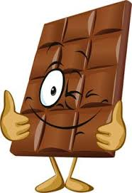 Chocolate on clip art chocolate easter bunny and