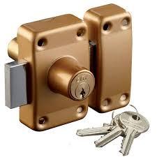 barillet securite porte entree verrou de surete a cles city 26 pour porte 40 mm 2 entrees