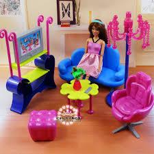 miniatur möbel unterhaltung wohnzimmer sofa spielset für 1 6 puppenhaus pretend toys diy montage für mädchen