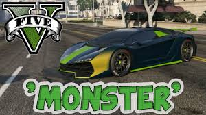 100 Cool Paint Jobs On Trucks Amazing Job G T A 5 Monster Zentorno Amazing You Tube