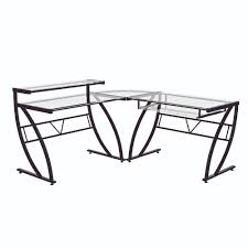 z line belaire glass l shaped desk zl1441 1du