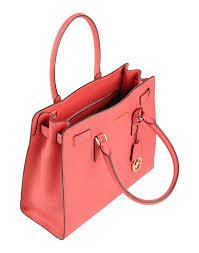 michael michael kors handbag in pink lyst