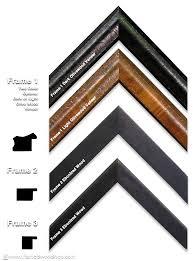 decorating recomended frame for motawi tile