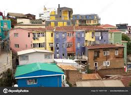 100 Houses In Chile In Valparaiso Stock Photo Ajlber 163977198