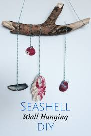 Seashell Craft Ideas Wall Hanging Fun DIY Tutorial For Kids Or Adults Perfect The Summer A Reminder Of Your Holiday