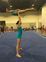 Usag Level 3 Floor Routine 2014 by Acro Flip Force San Diego