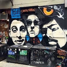 Joe Strummer Mural East Village by Best Celebrity Murals Nyc Street Art Pictures