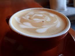 Coffee Latte Art Cup Of
