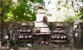 Brown Detailed Camo Wedding Cake