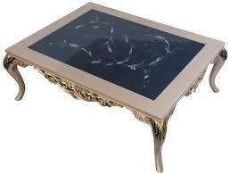 casa padrino luxus barock couchtisch mit glasplatte silber schwarz gold 128 x 95 x h 46 cm prunkvoller wohnzimmertisch mit elegantem muster