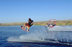 free water ski photos hydrofoil tail grab skidder classic water