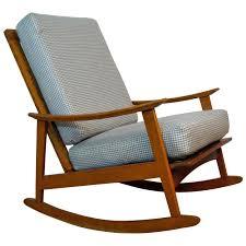 Mid Century Modern Rocking Chair — WILSON HOME DESIGN