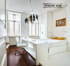 Elegant Small Bedroom Office Design Ideas White With Home Creative Master