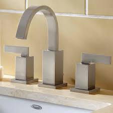 Sink Handles Turn Wrong Way by Times Square Arched Widespread Faucet American Standard