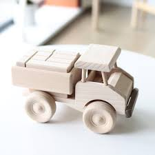 100 Wooden Truck Large Wooden Truck With Blocks LUXE Edition Happy Little Folks