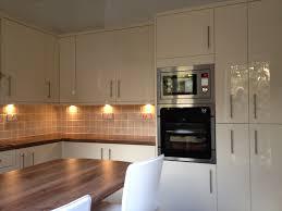 Under Cabinet Lighting Ikea by Grey Kitchen Cabinets With White Appliances Interior Kitchen Set