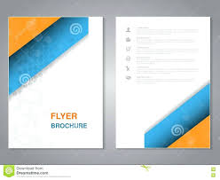 Poster Template Design Modern Brochure Abstract Flyer With Simple Dotted Layout Intended For Word