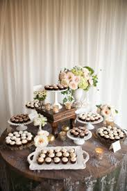 Rustic Dessert Table Shared On Style Me Pretty