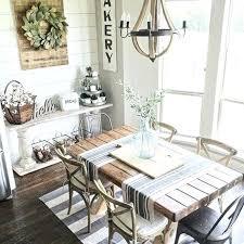 Modern Farmhouse Dining Room Wall Decor Dinning Decorating Ideas On A Budget