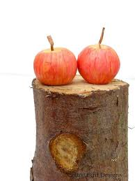 Wedding Cake Topper Mini Apple Orchard Woodland Barn Rustic Garden 2308597