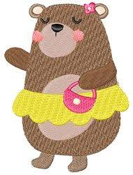 Goldilocks Mama Bear Machine Embroidery Design From Embroiderydesigns