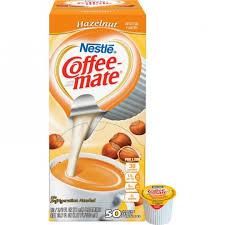 Nestle Professional 35180 Coffee Mate Hazelnut Creamer Singles