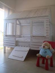 Pallet Bed House For Your Kids