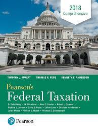Pearson Desk Copy Return by Pearson Pearson U0027s Federal Taxation 2018 Comprehensive 31 E