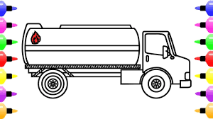 How To Draw Tanker Truck For Kids | Coloring Page Of Truck For Kids ... How To Draw A Truck Step By 2 Mack A Simple Art Projects For Kids To Easy Drawing Tutorials Semi Monster Refrence Coloring Really Tutorial Man Army Coloring Page Free Printable Pages Draw Dodge Ram 1500 2018 Pickup Drawing Youtube Ways With Pictures Wikihow Of Cartoon Trucks 1 Tow Truck