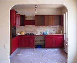 relooking cuisine ancienne repeindre une cuisine 300 euros pour un relooking réussi côté maison