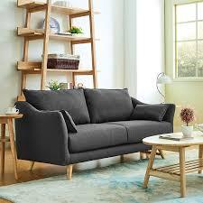einfache europäischen kleines wohnzimmer kleine wohnung sofa einzelne person zwei menschen drei zimmer japanischen stil tuch sofa
