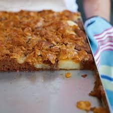 schoko birnen kuchen rezept essen und trinken