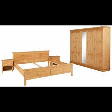 home affaire schlafzimmer set set 4 tlg bestehend aus 180er bett 5 trg schrank und 2 nachttischen