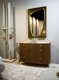 spiegel mit bronziertem rahmen idfdesign