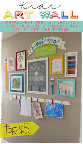 Dignitet Curtain Wire Hack by Best 25 Hanging Kids Artwork Ideas Only On Pinterest Display