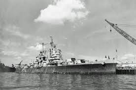 Uss Indianapolis Sinking Timeline by Uss San Juan Cl 54 At Anchor 1942 History World War Ii