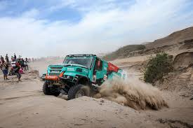 100 Top Ten Trucks Dakar Rally Podium Finish For Team De Rooy With All Four Trucks In