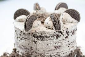 oreo kuchen cake mit schokolade und kekse