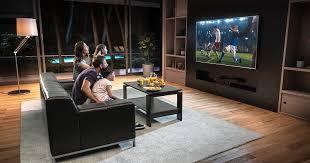 die optimale höhe position für deinen fernseher