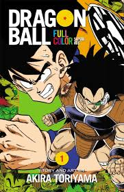 Viz Artwork by Viz To Release U0027dragon Ball Z U0027 Manga In Full Color Starting In