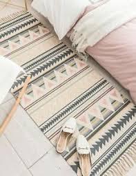 details zu boho teppichläufer bohemian größenauswahl makramee vorleger teppich läufer