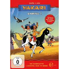 dvd yakari staffelbox 1 die komplette 1 staffel zur tv serie 4 dvds yakari