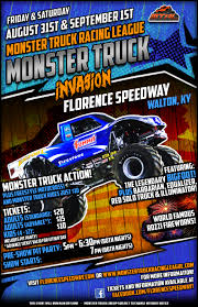 Monster Truck Invasion! | Florence Speedway | Union, Kentucky