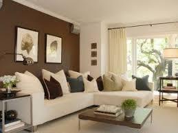 wohnzimmer farblich gestalten braun wandfarben ideen