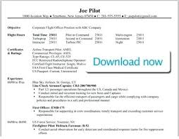 Resume Samples For Jobs In Canada Plus Professional Pilot Template To Make Awesome Part Time 696
