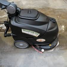 Automatic Floor Scrubber Detergent by 18 Inch Electric Auto Scrubber Cleanfreak Reliable 18e