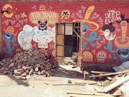 Deep Ellum Wall Murals by Mural By Jorge Gutierrez Jorge Gutierrez U0026 Sandra Equihua Fan