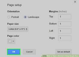Image Titled Make A Brochure Using Google Docs Step 8
